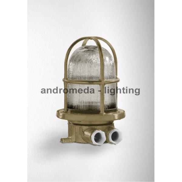 BRASS DECK HEAD LAMP CODE 10