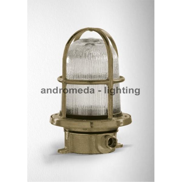 BRASS DECK HEAD LAMP CODE 11