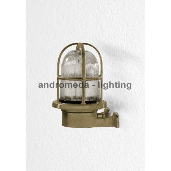 BRASS DECK HEAD LAMP CODE 15