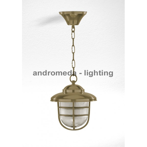 BRASS PENDANT LIGHT CODE 792