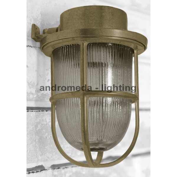 BRASS DECK HEAD LAMP CODE 15N