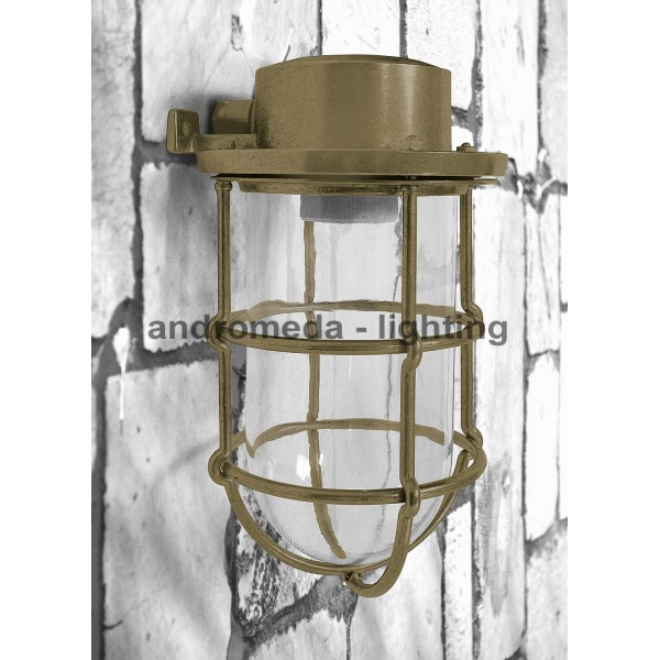 BRASS DECK HEAD LAMP CODE 16N