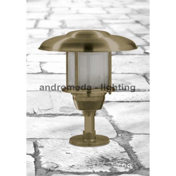BRASS SMALL COLUMN LIGHT CODE 231