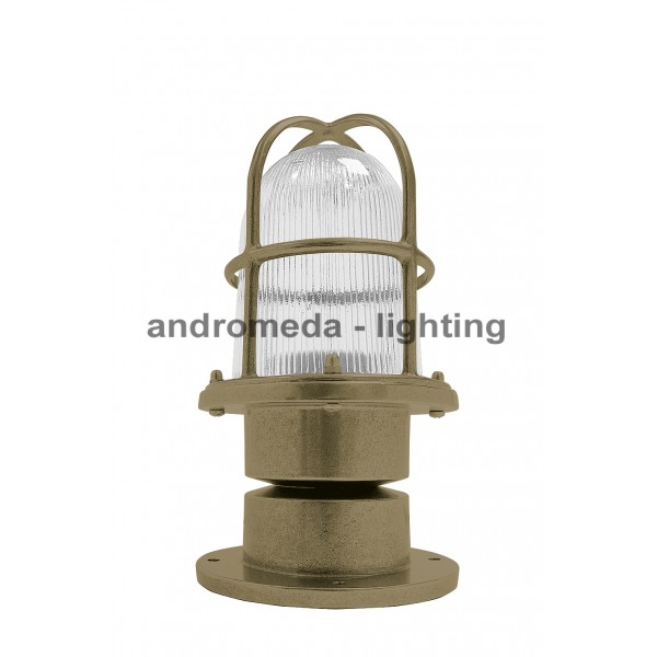 BRASS SMALL COLUMN LIGHT CODE 261N