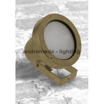 BRASS ADJUSTING SPOT LIGHT CODE 97