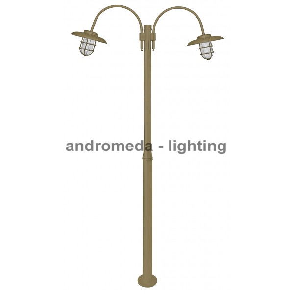 BRASS COLUMN LIGHT CODE K226