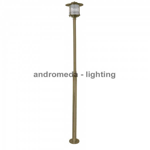 BRASS COLUMN LIGHT CODE K28
