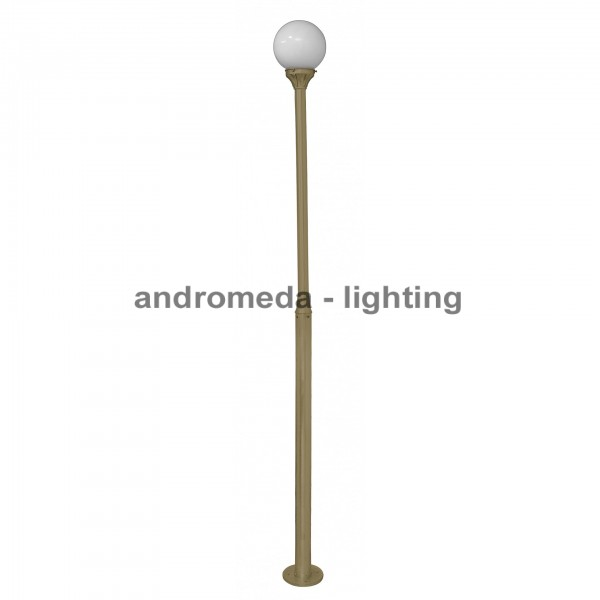 BRASS COLUMN LIGHT CODE K98